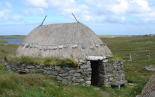 Rebuilt Norse-style mill at Carloway