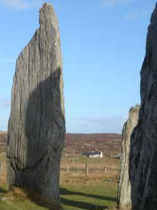 Callanish Stones showing our Self Catering House